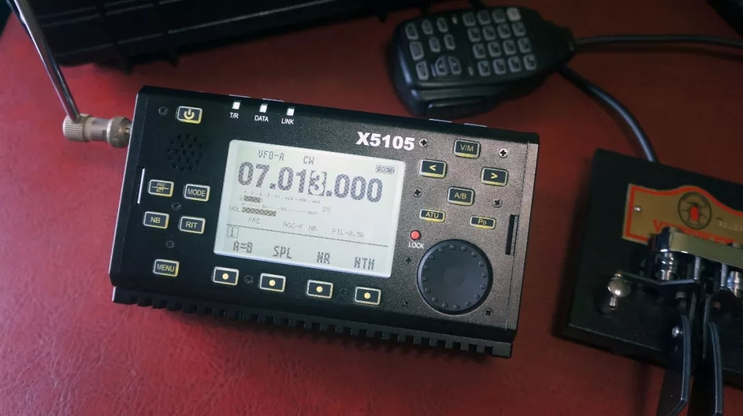 超便携短波精灵谷X5105全功能便携电台